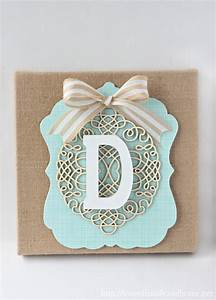 stylish monogrammed wall decor With monogrammed wall art