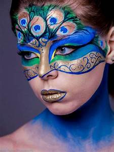 17, Creative, Face, Painting, Ideas, For, Halloween, And, Birthdays