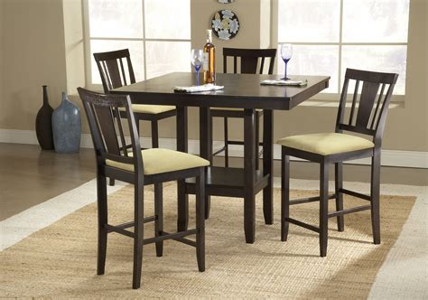 Bar Height Dining Room Table Sets Height Dining Table Hilale Arcadia Counter Height Dining