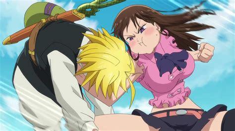 image diane punching meliodas for not recognizing her png nanatsu no taizai wiki fandom