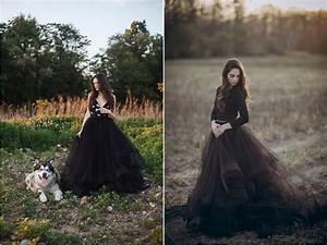 Robe De Mariée Noire : une robe de mari e noire et pourquoi pas pour votre ~ Dallasstarsshop.com Idées de Décoration