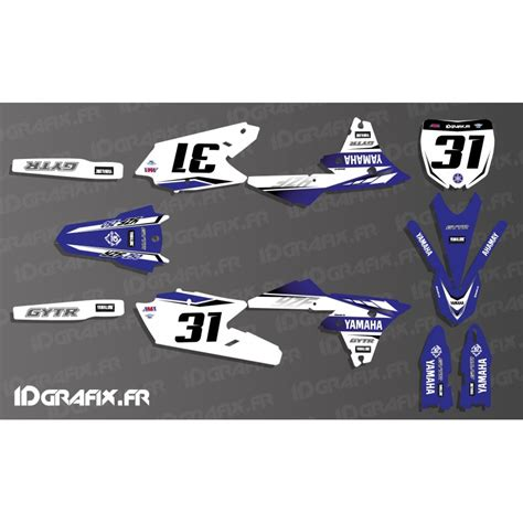 kit deco yz 125 kit decoration yamaha factory 2017 replica yamaha yz yzf 125 250