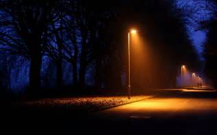 What Is A Lamp Post by Nature Night Lights Lamps Lamp Post Trees Lightbeams Roads