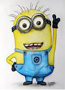 Minion Fan Art Drawing  Despicable Me  by LethalChris on DeviantArt  Despicable Me 2 Minions Drawing