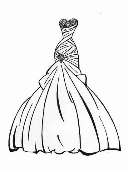 Coloring Ausmalbilder Kleid Ausdrucken Malvorlagen Kostenlos Zum