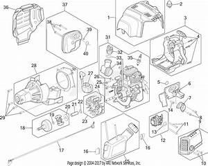 Troy Bilt Tb635ec 41adz63c766 Parts Diagram For Engine