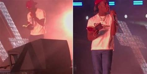 Lil Uzi Vert Reacts After Getting Bible Thrown At Him ...