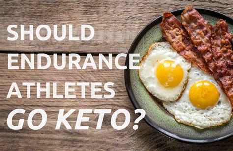 Maybe you would like to learn more about one of these? Should Endurance Athletes Go Keto? Ketosis and Ketogenic ...