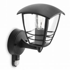 Led Einbaustrahler Außen Mit Bewegungsmelder : aussen wandlampe mit bewegungsmelder schwarz ~ Yasmunasinghe.com Haus und Dekorationen