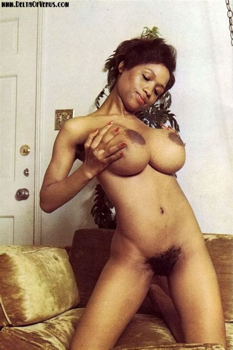 1970s ebony pinup sylvia mcfarland x post from r vintagesmut hairy pussy luscious