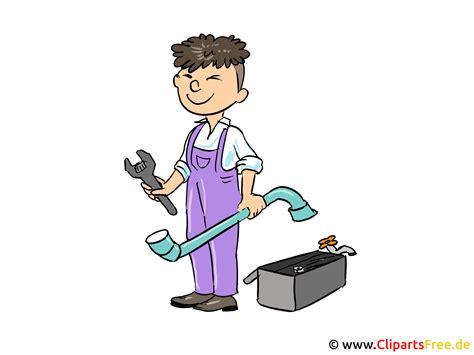 handwerker schlosser clipart bild cartoon illustration