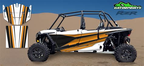 2014 Rzr Xp2 1000 Custom Decal Kits  4 Seater