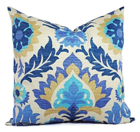 blue outdoor pillows two outdoor pillow covers blue navy and pillows patio