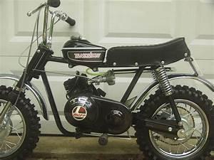 Rupp Black Widow Mini Bike 1971 Minibike Hs40 Dellorto Nos