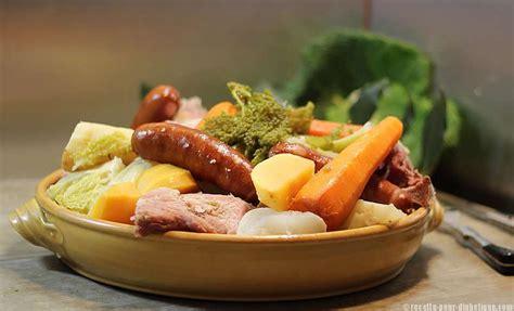 cuisine pour diabetiques et cholesterol potée auvergnate aux 2 choux
