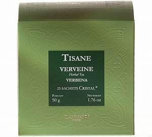 Verveine Plante Tisane : tisane verveine bo te de 25 sachets cristals ~ Mglfilm.com Idées de Décoration