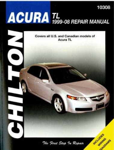 free service manuals online 2006 acura tl security system chilton 1999 2008 acura tl repair manual