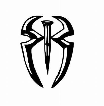 Reigns Roman Wwe Symbol Wrestling Clipart Tattoo