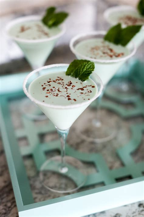 chocolate mint martini evite