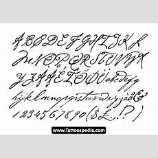 Tattoo%20cursive%20fonts 02 Tattoo Cursive Fonts 02  Designs  Pinterest  Tattoo Cursive And
