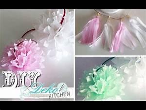 Youtube Deko Selber Machen : diy pompoms f r party deko selber machen deko kitchen youtube ~ Buech-reservation.com Haus und Dekorationen