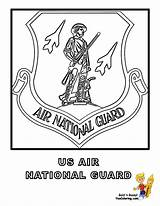 Flag Coloring Guard Air National Army Yescoloring American Usa Pages Military Soldier Soldiers Flags Boys Noble Uniform sketch template
