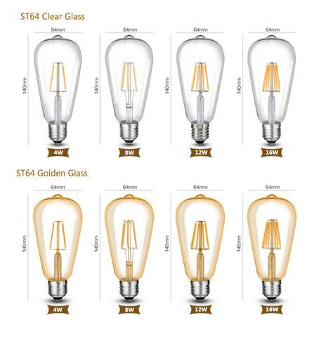 dimmbare led e27 36102 dimmbare led e27 e14 filament gl 252 hbirne le cob birne leuchtmittel 8 16w 220v ebay
