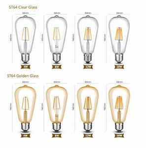 Dimmbare Led E27 : dimmbare led e27 e14 filament gl hbirne lampe cob birne leuchtmittel 8 16w 220v ebay ~ Yasmunasinghe.com Haus und Dekorationen