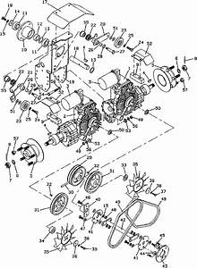 Grasshopper Lawn Mower 721 Drive Assembly Parts Diagrams