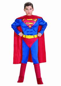 Child Deluxe Superman Costume - Kids Superman Halloween ...