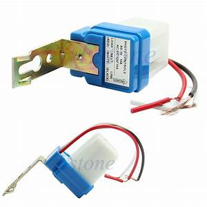 Ac Dc 12v 10a Auto On Off Photocell Light Photoswitch