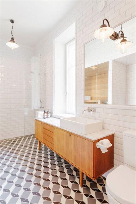 meuble salle de bain retro salle de bain r 233 tro carrelage meubles et d 233 co en 55 photos