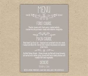 dinner menu template word it resume cover letter sample With free menu templates for dinner party