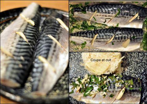cuisiner maquereau filets de maquereau marinés et riz au fenouil citronné