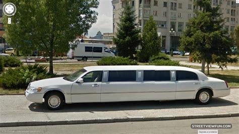 White Limo by Streetviewfun White Limousine In Fagaras Romania