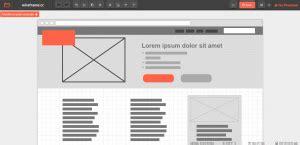 le logiciel de mockup point de d 233 part des maquettes web