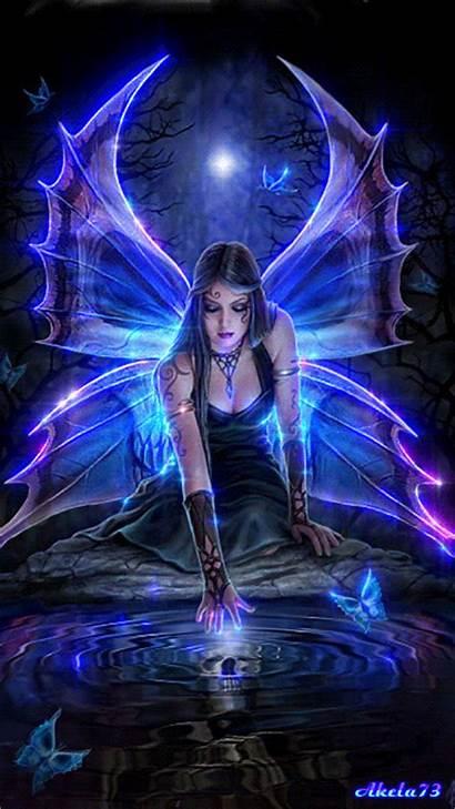 Animated Fantasy Gifs Creatures Fairy Angel Mythical