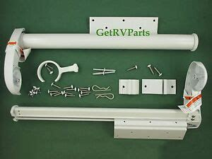 ae dometic  rv  topper bracket hardware kit tall white ebay