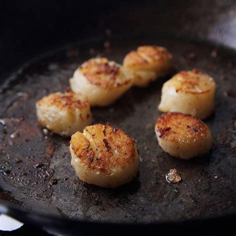 cuisiner des noix de st jacques avec corail recette noix de jacques juste poelées
