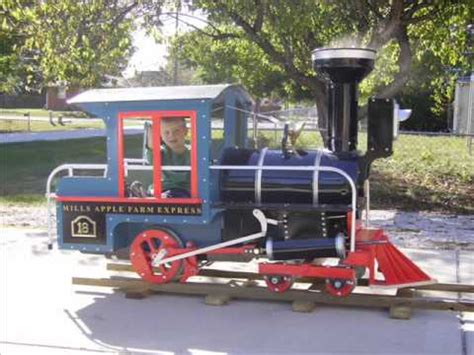 Ride On Backyard Trains by Building A 14 Quot Wooden Backyard Railroad Part 1