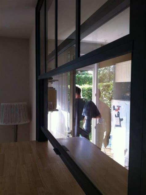 fenetre separation cuisine fenêtre americaine passe plat intérieur séparation