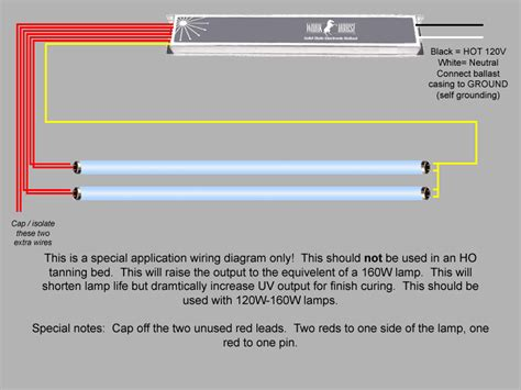 Wiring Diagram For Tanning Bed by Workhorse 8 Ballast
