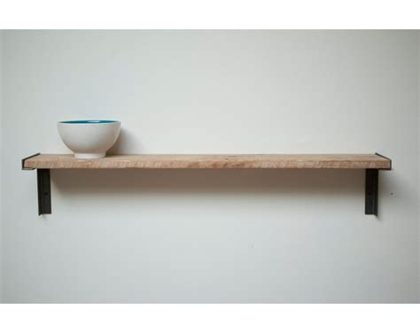 Fahrradhalterung Wand Holz by Minimal Wall Mount Shelf Handmade With Reclaimed