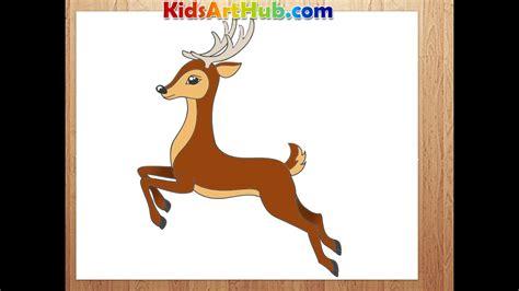 draw deer youtube