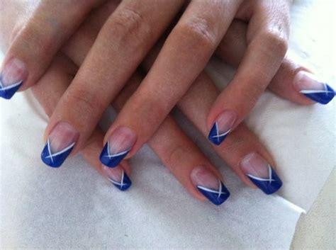 deco ongles nail d 233 co ongles bleu id 233 es nail ongles bleus ongles et bleu