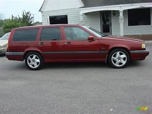 Turbo Red Pearl 1996 Volvo 850 Wagon Exterior Photo