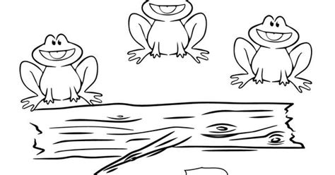 speckled frogs coloring picture  kids projects   pinterest frogs