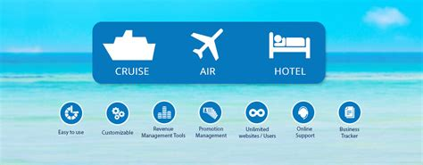 travel booking solutions cruise airline hotel booking engine