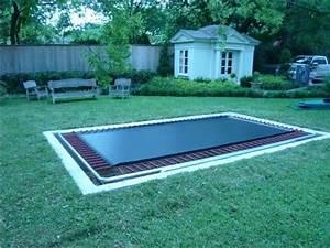 In Ground Trampolin : inground trampoline pit 3 backyard pinterest in ground trampoline backyard trampoline and ~ Orissabook.com Haus und Dekorationen