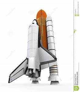 Space Shuttle Isolated Stock Photos - Image: 37446913